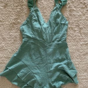Sea Green Romper